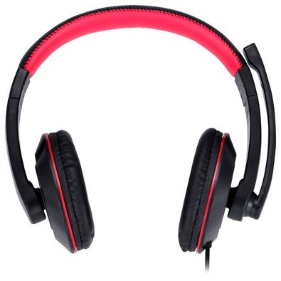 Headset Gamer Vinik VX Gaming V Blade II USB, Drivers 40mm, Preto e Vermelho - 31534