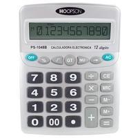 Calculadora Eletrônica Hoopson, 12 Dígitos - PS-1048B
