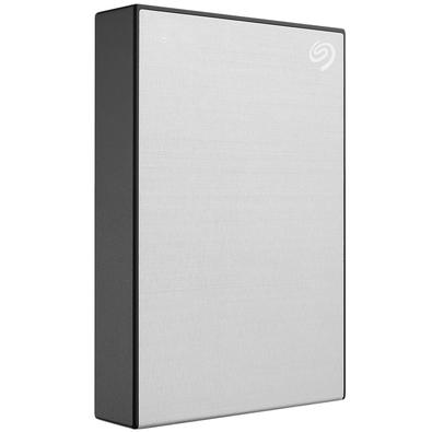 HD Seagate Externo Portátil Backup Plus Portable, 4TB, USB 3.0, Prata - STHP4000401