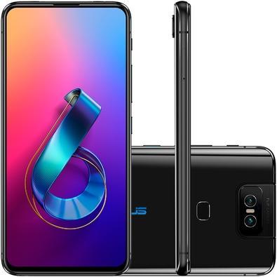 Smartphone Asus Zenfone 6, 128GB, 48MP, Tela 6.4´, Preto - ZS630KL-2A022WW