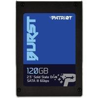 SSD Patriot Burst 2.5´, 120GB, SATA III, Leituras: 560MB/s e Gravações: 540MB/s - PBU120GS25SSDR