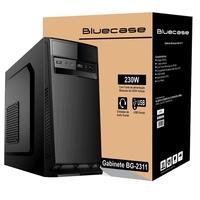 Gabinete Bluecase BG-2311, Mini Tower, Com Fonte - BG2311GCASE