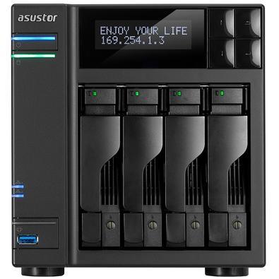 Storage Asustor NAS, 48TB, 4 Baias - AS6204T48000