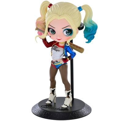 Action Figure Suicide Squad, Harley Quinn/Arlequina, Q Posket (MOD.A) - 28680/28681