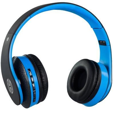 Headphone Bluetooth Hoopson, Azul - F-038 P