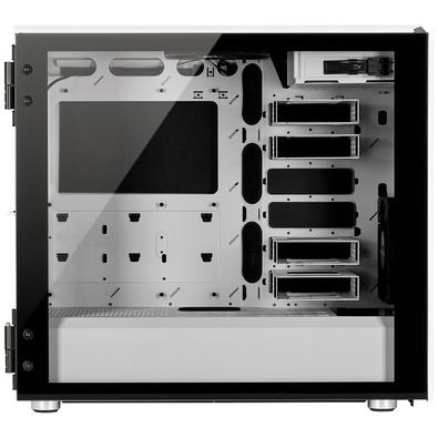 Gabinete Gamer Corsair Carbide Series 678C, Mid Tower, com FAN, Lateral em Vidro, Branco -  CC-9011170-WW