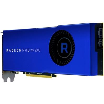 Placa de Vídeo AMD Radeon Pro WX 9100, 16GB, HBM2 - 100-505957