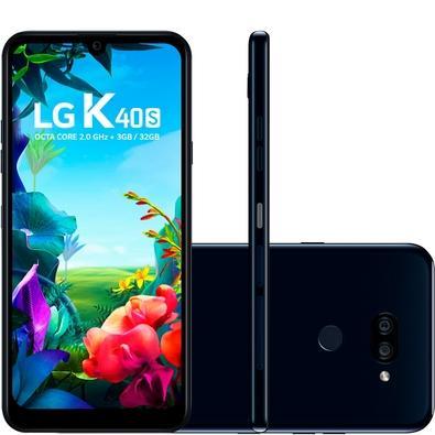 Smartphone LG K40S, 32GB, 13MP, Tela 6.1´, Preto - LMX430BMW