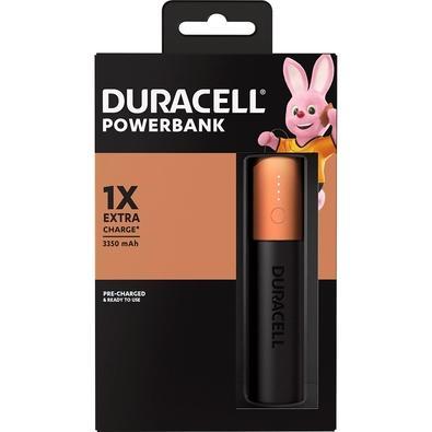 Carregador Portátil Duracell USB, 3350 mAh - 70143