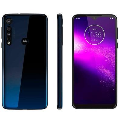 Smartphone Motorola Moto One Macro, 64GB, 13MP, Tela 6.2´, Azul Espacial - XT2016-2