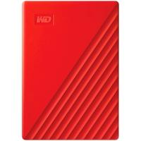 HD WD Externo Portátil My Passport, 4TB, USB 3.0, Vermelho - WDBPKJ0040BRD-WESN