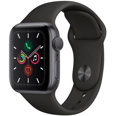 Apple Watch 5, GPS, 40mm, Cinza Espacial - MWV82BZ/A