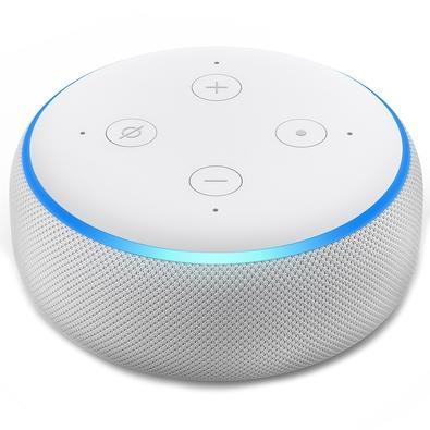 Amazon Smart Home Echo Dot Alexa, 3ª Geração, Branco