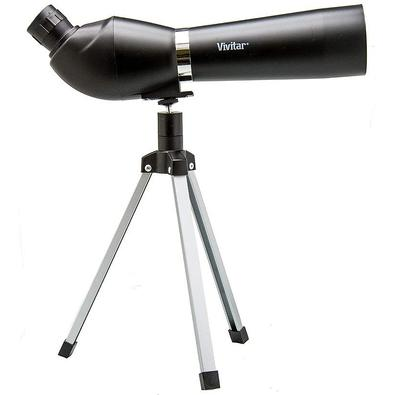 Luneta Vivitar Spotting Scope, Ampliação até 36x, Lente 50mm, com Tripé - VIVTV1836
