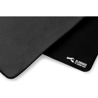Mousepad Gamer Glorious PC Gaming Race Black Stealth, Speed e Control, Extra Grande (410x460mm) - G-HXL-STEALTH