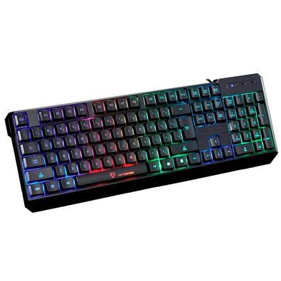 Teclado Gamer Motospeed K70, LED Rainbow, ANSI - FMSTC0022PT