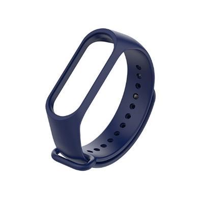 Bracelete Xiaomi Mi Band 3/4, Silicone, Azul - XM382AZU