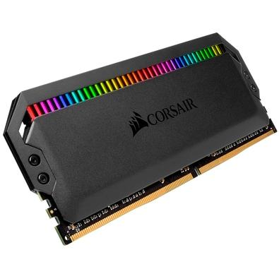 Memória Corsair Dominator RGB, 16GB (2x8GB), 3600MHz, DDR4, CL18 - CMT16GX4M2C3600C18