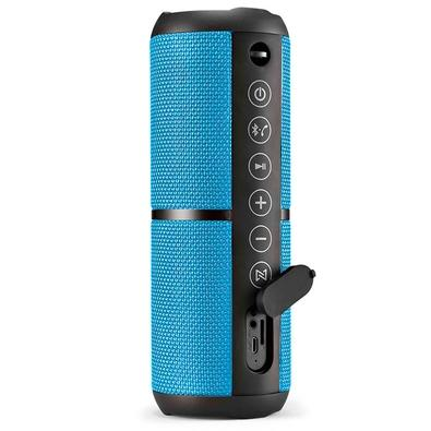 Caixa de Som Multilaser Pulse Wave 2, Bluetooth, 20W RMS, Azul - SP375