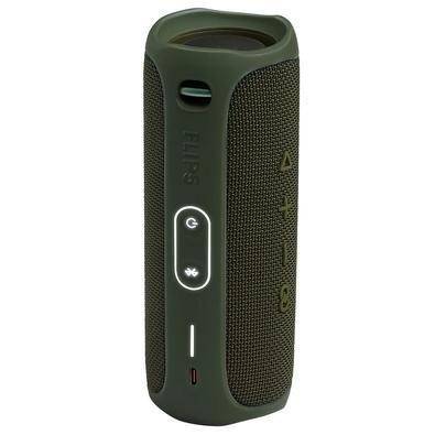 Caixa de Som JBL Flip 5, Bluetooth, 20W RMS, à Prova D´Água, Verde - JBLFLIP5GREN