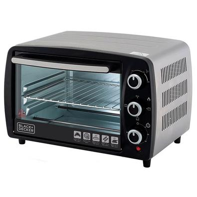 Forno Elétrico Black + Decker Bake Chef Family, 50 Litros, 220V, Preto e Inox - FT50-B2