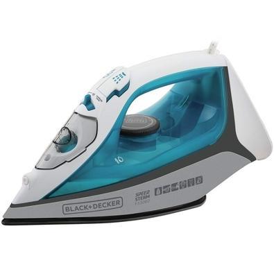 Ferro de Passar a Vapor Black + Decker Speed Steam, 2000W, 220V, Azul - FX3060-B2