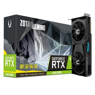 Placa de Vídeo Zotac NVIDIA GeForce RTX 2080 Super Twin Fan, 8GB, GDDR6 - ZT-T20820F-10P