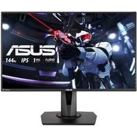 Monitor Gamer Asus LED, 27´, Widescreen, Full HD, IPS, HDMI, DisplayPort, Dual-link DVI-D, FreeSync, 144Hz, 1ms, Altura Ajustável - VG279Q