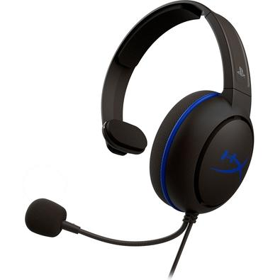Headset HyperX Cloud Chat PS4, Drivers 40mm, Preto - HX-HSCCHS-BK/AM