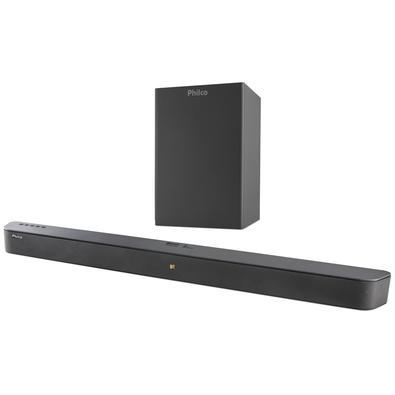 Soundbar Philco PSB04T, 420W RMS, Bluetooth, Subwoofer Wireless 6.5´ - 56603762