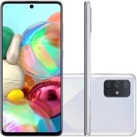 Smartphone Samsung Galaxy A71, 128GB, 64MP, Tela 6.7´, Prata - SM-A715FZSJZTO