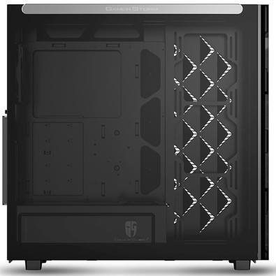Gabinete Gamer Deepcool Macube 550, Mid Tower, com FAN, Lateral em Vidro - GS-ATX-MACUBE550-BKG0P