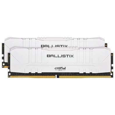 Memória Crucial Ballistix Sport LT, 32GB (2X16), 3000MHz, DDR4, CL15, Branca - BL2K16G30C15U4W