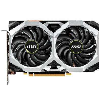 Placa de Vídeo MSI NVIDIA GeForce RTX 2060 Ventus XS 6G OC, 6GB, GDDR6 - GeForce RTX 2060 VENTUS XS 6G OC