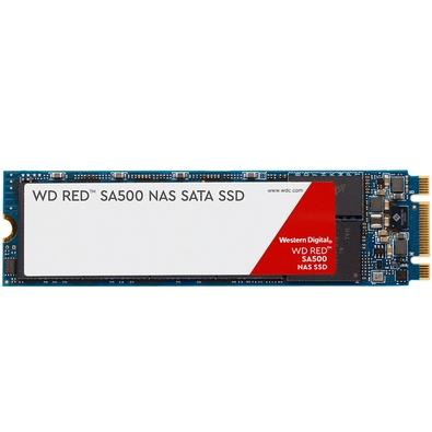 SSD WD Red SA500 NAS, 1TB, M.2 2280, Leituras: 560Mb/s e Gravações: 530Mb/s - WDS100T1R0B