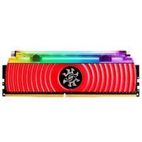 Memória XPG Spectrix D80, RGB, 16GB (2x8GB), 3600MHz, DDR4, CL18, Vermelho - AX4U360038G18A-DR80