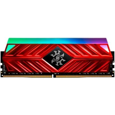 Memória XPG Spectrix D41, RGB, 8GB, 3200MHz, DDR4, CL16, Vermelho - AX4U320038G16-SR41