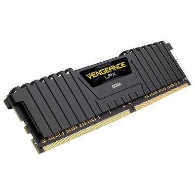 Memória Corsair Vengeance LPX 16GB (4x4GB) 2400Mhz DDR4 C16 Black - CMK16GX4M4A2400C16