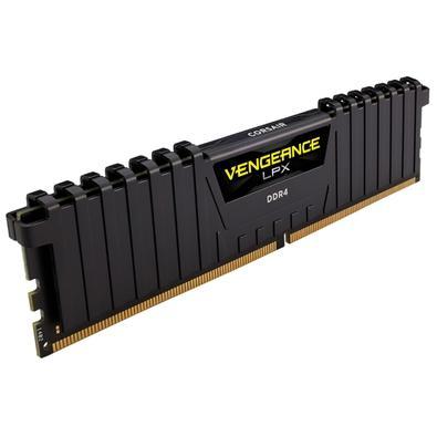 Memória Corsair Vengeance LPX 32GB (2x16GB) 3200Mhz DDR4 C16 Black - CMK32GX4M2B3200C16