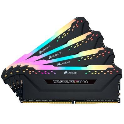Memória Ram 32gb Kit(4x8gb) Ddr4 3200mhz Cmw32gx4m4z3200c16 Corsair
