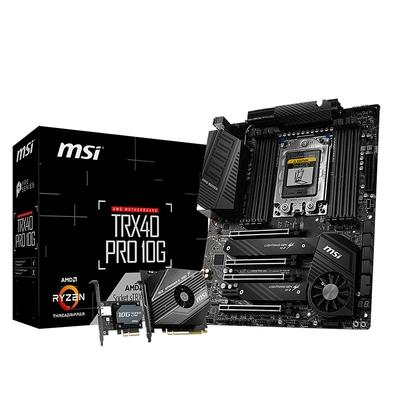 Placa-Mãe MSI TRX40 Pro 10G, AMD sTRX4, ATX, DDR4