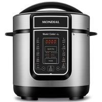 Panela de Pressão Elétrica Mondial Digital Master Cooker, 3 Litros, 110V, Inox - PE-40