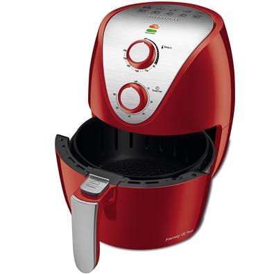Fritadeira Sem Óleo Mondial Family IV, 3.5 Litros, 110V, Vermelho - AF-32-RI