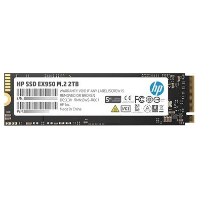 SSD HP EX950, 2TB, M.2, PCIe, NVMe, Leituras: 3500Mb/s e Gravações: 2900Mb/s - 5MS24AA#ABC