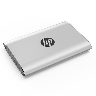 SSD Externo HP P500, 120GB, USB, Leituras: 380Mb/s e Gravações: 110Mb/s, Prata - 7PD48AA#ABC