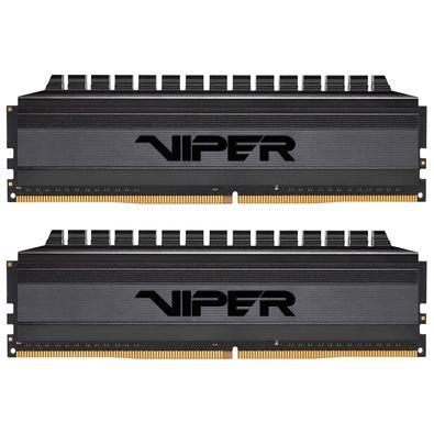 Memória Patriot Viper 4 Blackout 16GB (2x8GB), 4000MHz, DDR4, CL19 - PVB416G400C9K