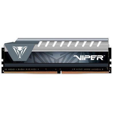 Memória Patriot Viper Elite 8GB (1x8GB), 2666MHz, DDR4, CL16, Cinza - PVE48G266C6GY