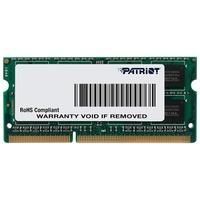 Memória Patriot Signature 4GB (1x4GB), 1600MHz, DDR3, p/ Notebook, CL11 - PSD34G1600L81S
