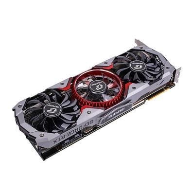 Placa de Vídeo Colorful iGame NVIDIA GeForce RTX 2080 Ti Advanced OC, 11GB, GDDR6 - iGame GeForce RTX 2080 Ti Advanced OC