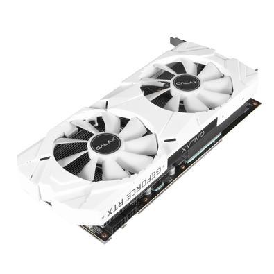 Placa de Vídeo Galax NVIDIA GeForce RTX 2060 Super EX White (1-Click OC), 8GB, GDDR6 - 26ISL6MPX6EW